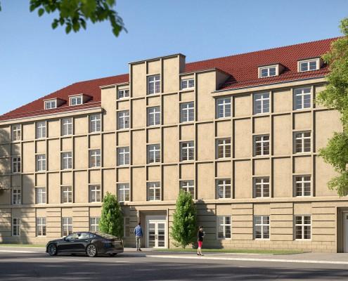 Rendering Ernst-Kamieth-Straße 2A